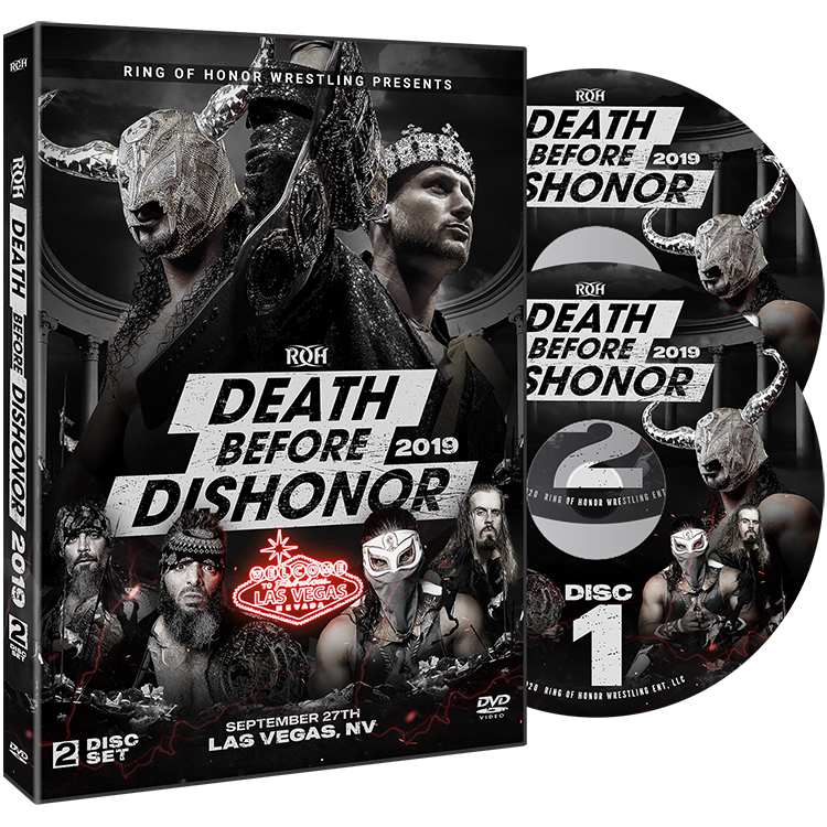 ROH - Death Before Dishonor 2019 Event 2 DVD Set