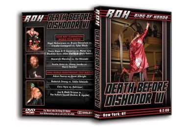 ROH - Death Before Dishonor 6 2008 Event DVD ( Pre-Owned )