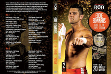 "ROH - Eddie Edwards ""The Road To The Triple Crown"" 2 Disc DVD Set ( Pre-Owned )"