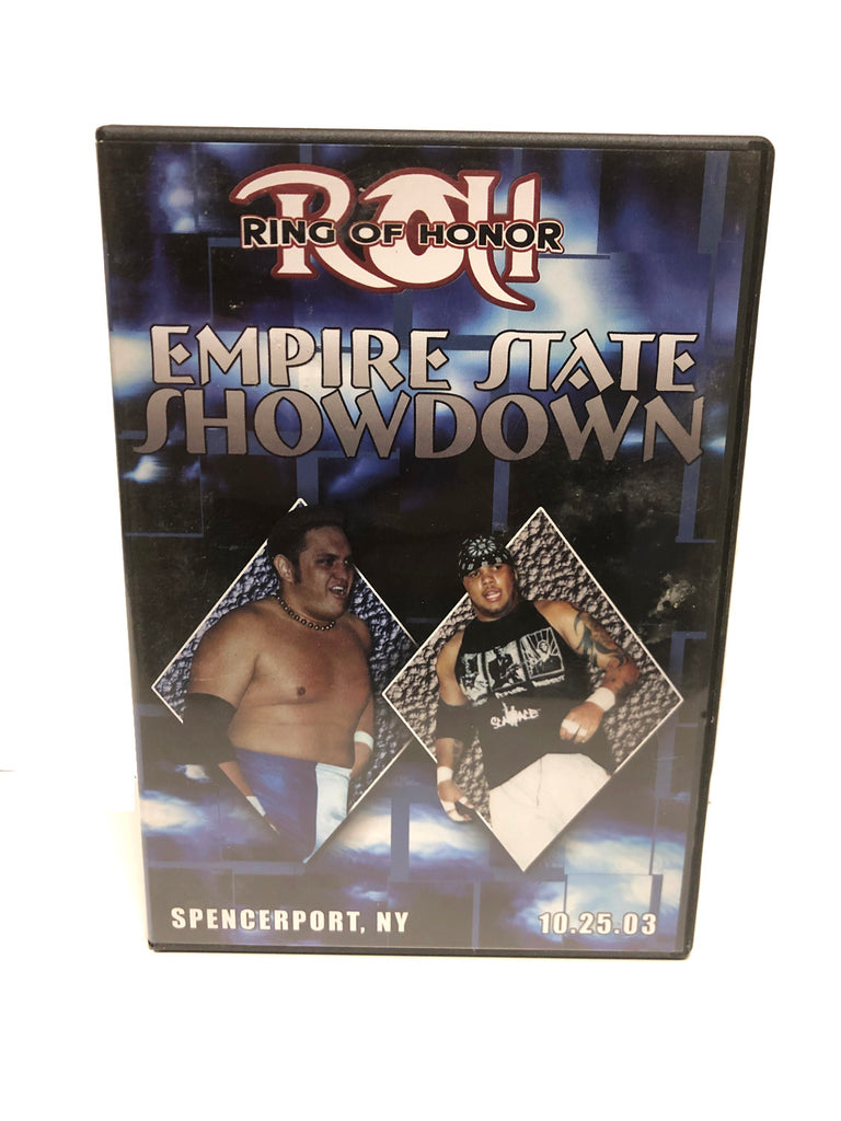 ROH - Empire State Showdown 2003 Event DVD (Pre-Owned)