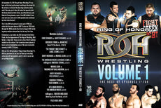 ROH - Ring of Honor Wrestling Vol. 1: The Best of Episodes 1-100 2 Disc DVD Set ( Pre-Owned )