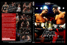 ROH - Final Battle 2011 Event 2 Disc DVD ( Pre-Owned )