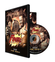 ROH - Final Battle 2015 Event DVD ( Pre-Owned )