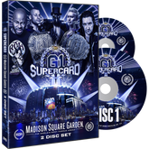 ROH & NJPW - G1 Supercard : Madison Square Garden 2019 Event 2 DVD Set ( Pre-Order )