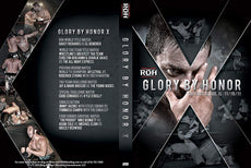 ROH - Glory By Honor X 2011 Event DVD ( Pre-Owned )