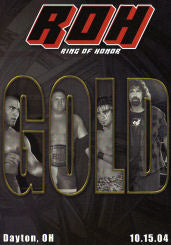ROH - Gold 2004 Event DVD (Pre-Owned)