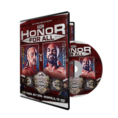 ROH - Honor For All 2018 Event DVD