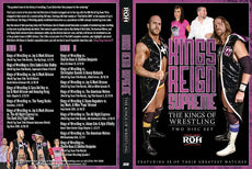 "ROH - Best of Kings of Wrestling ""Kings Reign Supreme"" 2 Disc DVD Set ( Pre-Owned )"