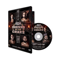 ROH - Masters Of The Craft 2018 Event DVD