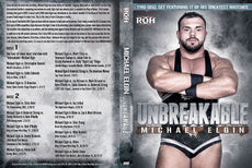 "ROH - Michael Elgin ""Unbreakable"" 2 Disc DVD Set ( Pre-Owned )"