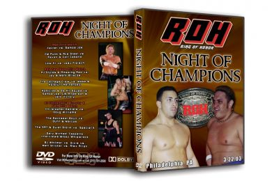 ROH - Night of Champions 2003 Event DVD (Pre-Owned)