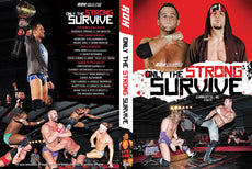 ROH - Only The Strong Survive 2011 Event DVD ( Pre-Owned )