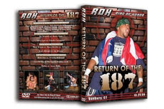 ROH - Return Of The 187 2008 Event DVD
