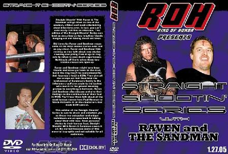 ROH - Straight Shootin with With Raven and Sandman Volume 1 ( Pre-Owned DVD )