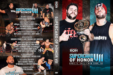 ROH - Supercard Of Honor VII (7) 2013 Event DVD ( Pre-Owned )