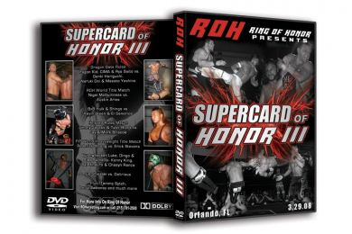 ROH - Supercard of Honor 3 2008 Event DVD ( Pre-Owned )