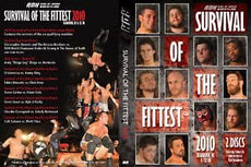 ROH - Survival of the Fittest 2010 Event DVD ( Pre-Owned ) + Bonus Disc