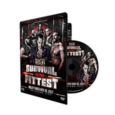 ROH - Survival Of The Fittest 2017 - Night 3 Event DVD