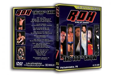 ROH - The 100th Show 2006 Event DVD (Pre-Owned)