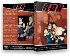 "ROH - ""Tag Team Excellence"" Best Of The Bricoe Brothers DVD ( Pre-Owned )"