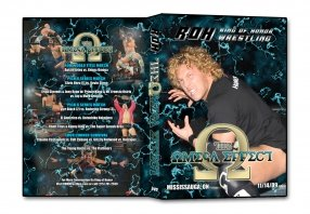 ROH - The Omega Effect 2009 Event DVD (Pre-Owned)