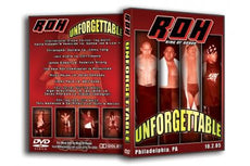 ROH - Unforgettable 2005 Event DVD (Pre-Owned)