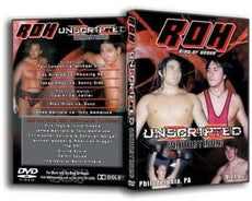 ROH - Unscripted X 2002 Event DVD