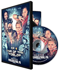 ROH / NJPW - War Of The Worlds 2015 Night 1 Event DVD
