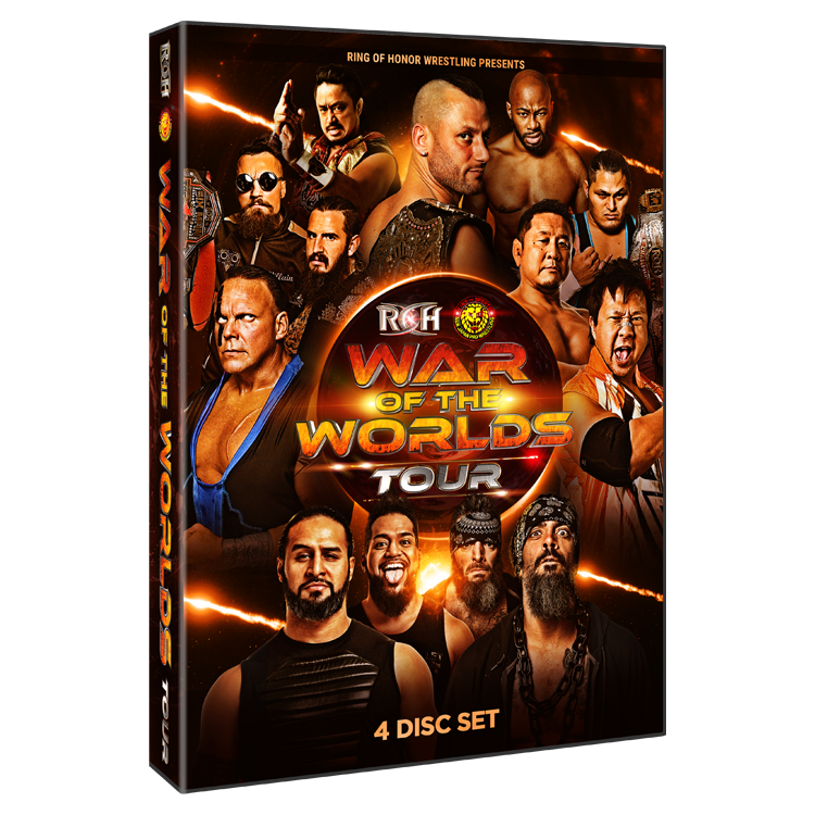 ROH - War Of The Worlds 2019 Tour - 4 Event DVD Set