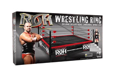ROH - Action Figure Wrestling Ring with Exclusive Michael Elgin Figure
