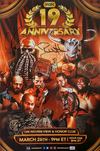 ROH - 19th Anniversary Show Signed 11x17 Poster (7 Autographs)
