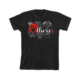 "ROH - The Allure - Velvet Sky, Angelina Love & Mandy Leon ""Red Logo"" T-Shirt"