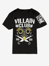 "NJPW - Marty Scurll ""Villain Club - Gold"" T-Shirt"