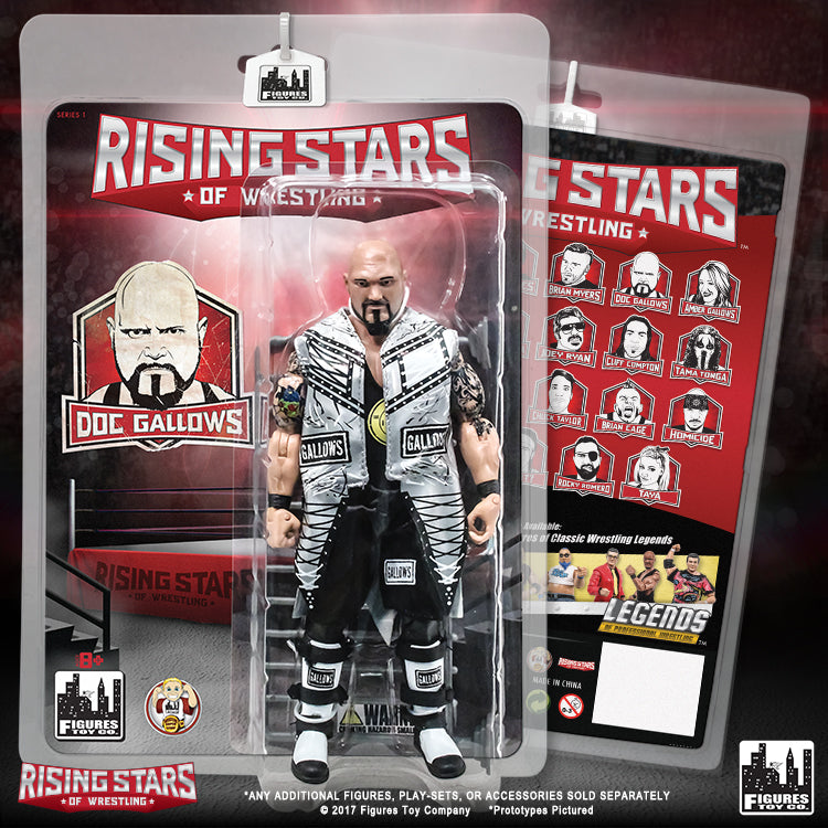 Rising Stars of Wrestling -  DOC Gallows Action Figure