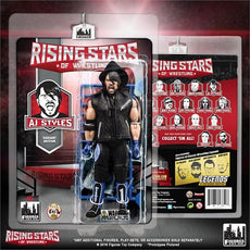 Rising Stars of Wrestling - AJ Styles Blue Variant Action Figure