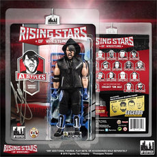 Rising Stars of Wrestling - AJ Styles Blue Variant Action Figure Signed / Autographed