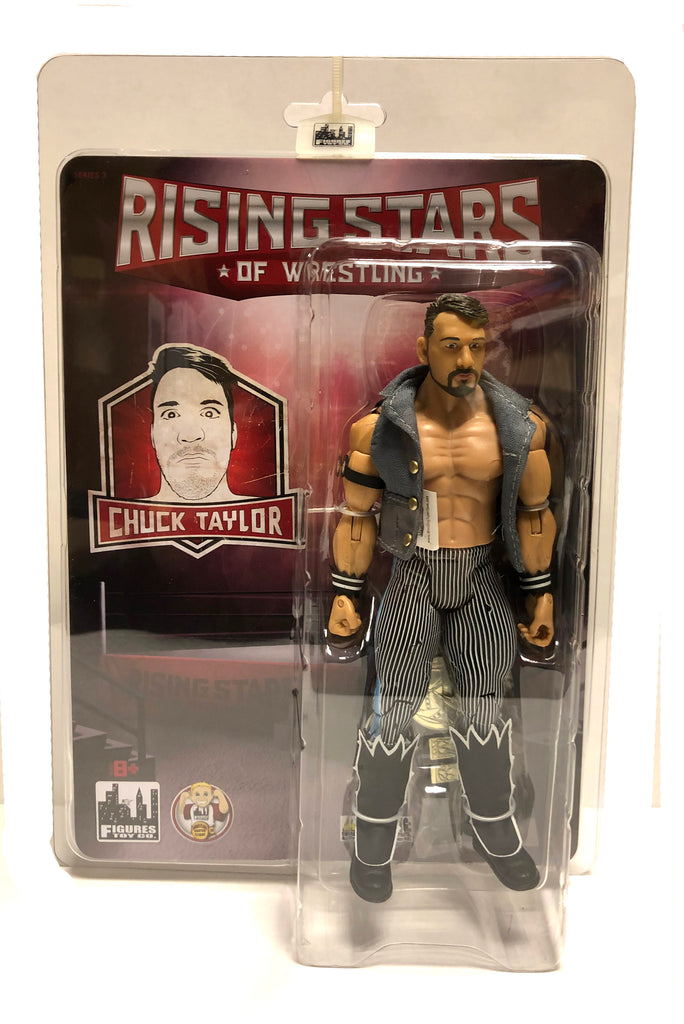 b8c301070f6a Rising Stars of Wrestling - Chuck Taylor Action Figure ...