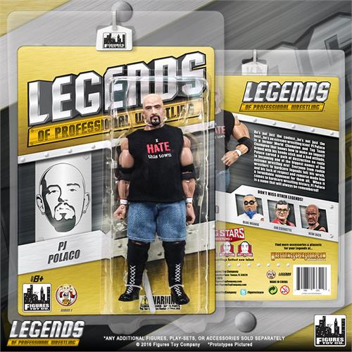 Legends of Professional Wrestling - PJ Polaco Action Figure