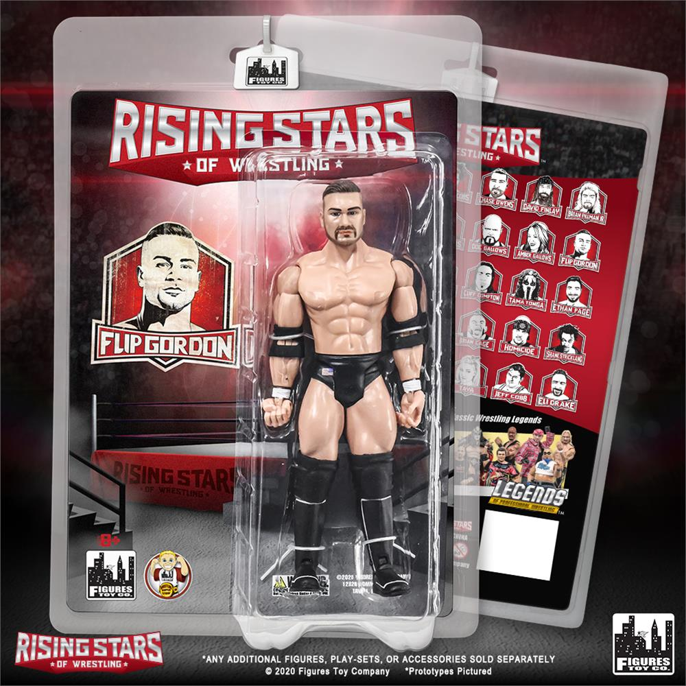 Rising Stars of Wrestling - Flip Gordon Action Figure