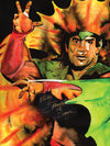 "Rob Schamberger - Ricky ""The Dragon"" Steamboat Hand Signed 24"" x 18"" Poster *inc COA*"
