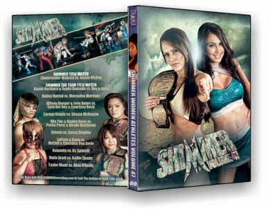 Shimmer - Woman Athletes - Volume 47 DVD