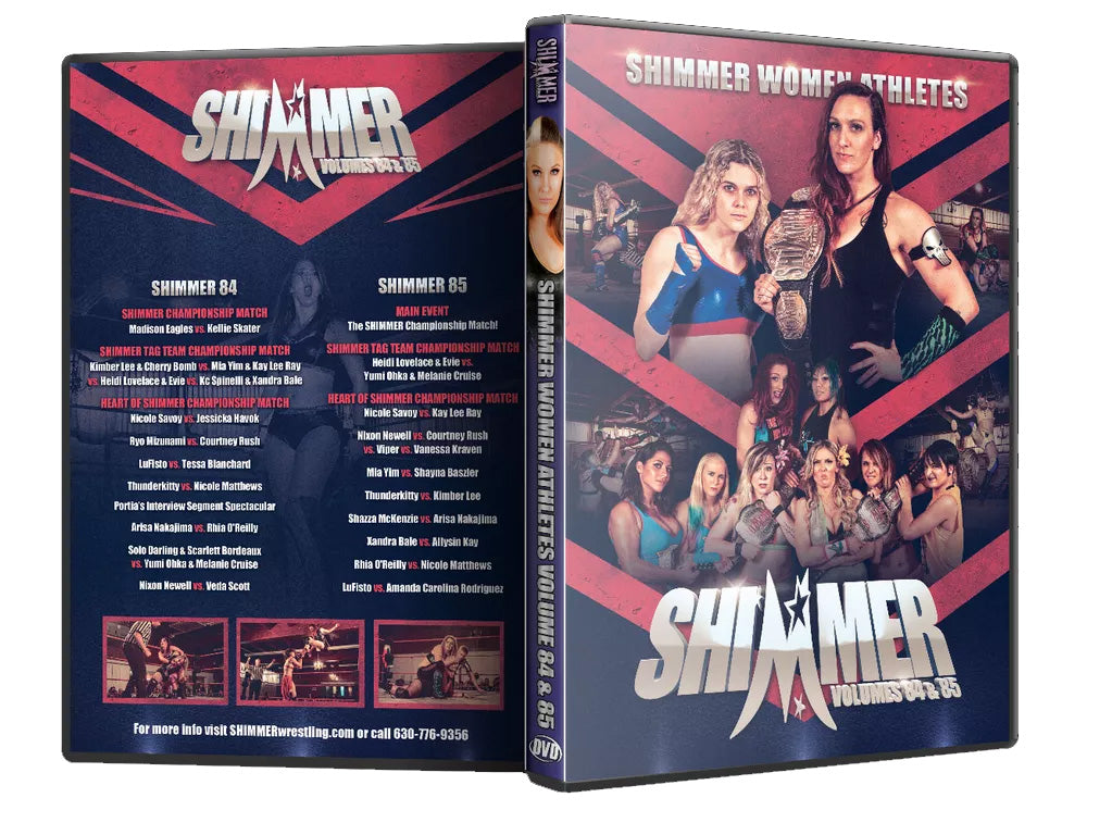 Shimmer - Woman Athletes - Volumes 84 & 85 DVD