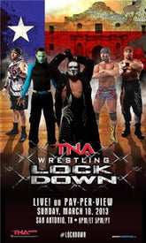 "TNA - Lockdown 2013 11x17"" Advertising Bill Poster"