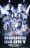 "TNA - Hand Signed Impact Bound For Glory 2016 11x17"" Bill Poster"
