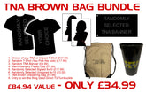 TNA Impact - Brown Bag Special * Plus Entry to Win a Ring Used Turnbuckle Pad!