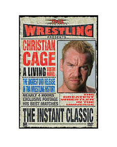 "TNA - ""Instant Classic"" The Best of Christian Cage DVD ( Pre-Owned )"