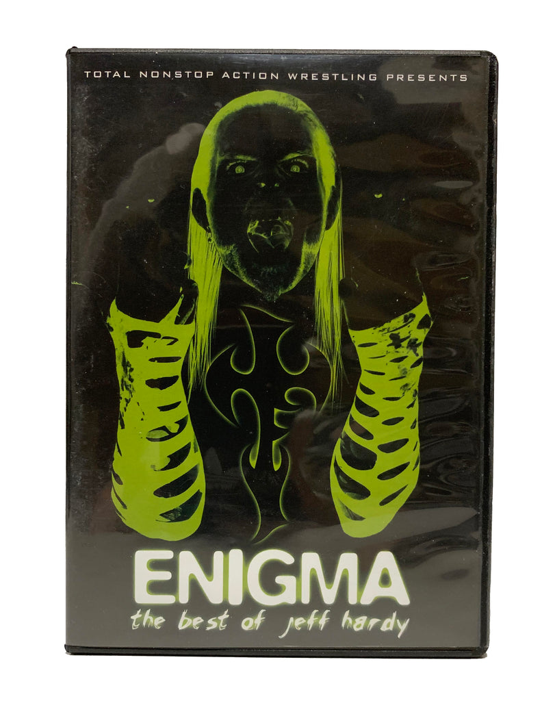 TNA - Enigma: The Best of Jeff Hardy * Original Print * 2 Disc DVD ( Pre-Owned )