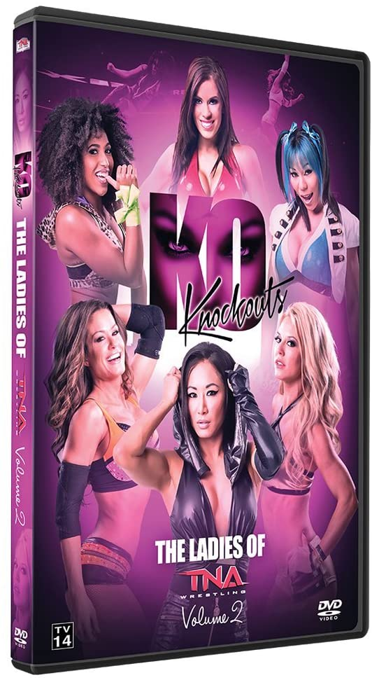 TNA - KO Knockouts : The Ladies Of TNA Wrestling Volume 2 DVD ( Pre-Owned )