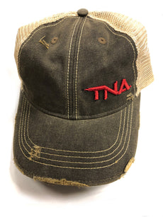 TNA - 2010 Black Trucker Hat