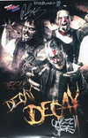 "TNA - Decay Autographed 11x17"" Poster"